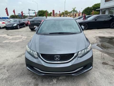 2013 Honda Civic for sale at America Auto Wholesale Inc in Miami FL
