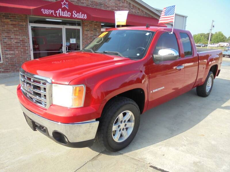 2007 GMC Sierra 1500 for sale at US PAWN AND LOAN in Austin AR