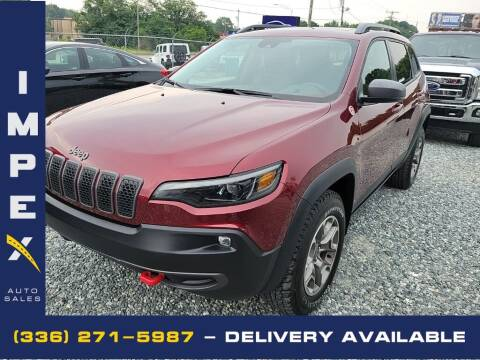 2021 Jeep Cherokee for sale at Impex Auto Sales in Greensboro NC