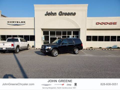 2017 Ford Expedition for sale at John Greene Chrysler Dodge Jeep Ram in Morganton NC