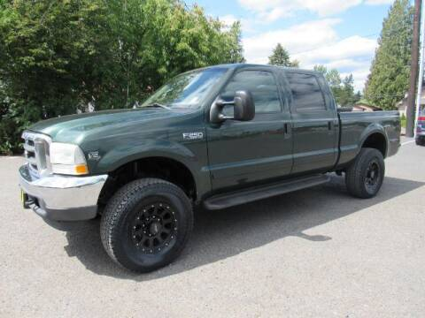 2002 Ford F-250 Super Duty for sale at Triple C Auto Brokers in Washougal WA