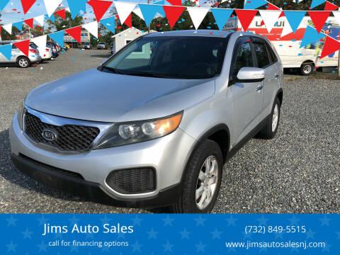 2011 Kia Sorento for sale at Jims Auto Sales in Lakehurst NJ