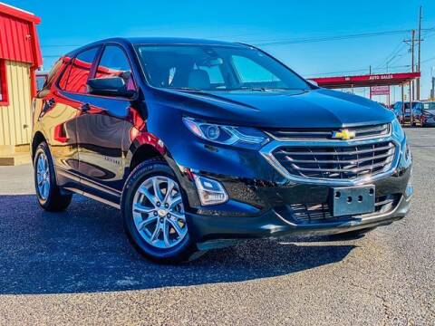 2020 Chevrolet Equinox for sale at MAGNA CUM LAUDE AUTO COMPANY in Lubbock TX