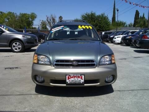 2001 Subaru Outback for sale at Empire Auto Sales in Modesto CA