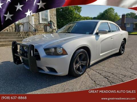 2012 Dodge Charger for sale at GREAT MEADOWS AUTO SALES in Great Meadows NJ