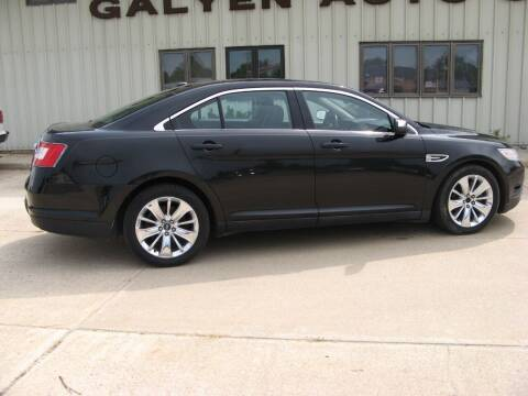 2010 Ford Taurus for sale at Galyen Auto Sales Inc. in Atkinson NE