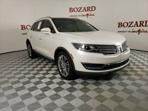 2017 Lincoln MKX for sale at BOZARD FORD in Saint Augustine FL