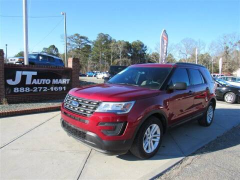 2016 Ford Explorer for sale at J T Auto Group in Sanford NC