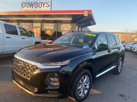 2020 Hyundai Santa Fe for sale at Cow Boys Auto Sales LLC in Garland TX