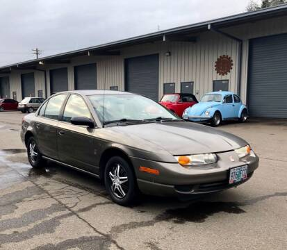 2001 Saturn S-Series for sale at DASH AUTO SALES LLC in Salem OR