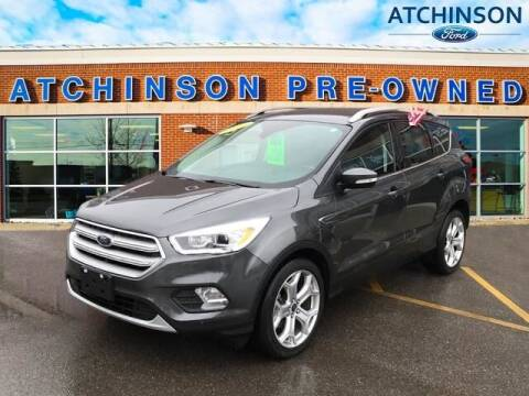 2019 Ford Escape for sale at Atchinson Ford Sales Inc in Belleville MI