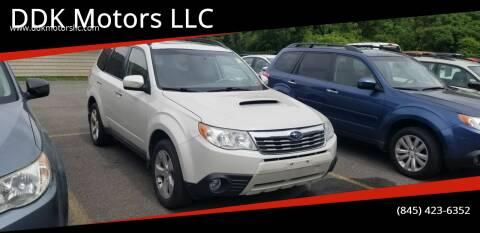 2009 Subaru Forester for sale at DDK Motors LLC in Rock Hill NY