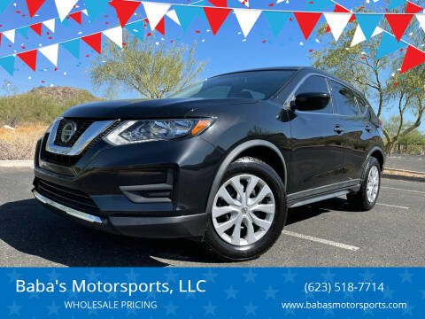 2018 Nissan Rogue for sale at Baba's Motorsports, LLC in Phoenix AZ
