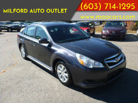 2010 Subaru Legacy for sale at Milford Auto Outlet in Milford NH