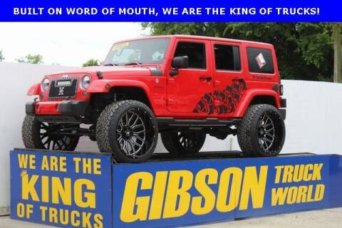 2017 Jeep Wrangler Unlimited for sale at Gibson Truck World in Sanford FL