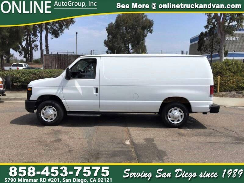 2013 Ford E-Series Cargo for sale at Online Auto Group Inc in San Diego CA