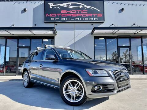 2016 Audi Q5 for sale at Exotic Motorsports of Oklahoma in Edmond OK