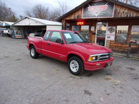 1997 Chevrolet S-10 for sale at LEE AUTO SALES in McAlester OK
