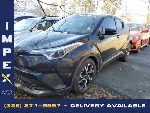 2018 Toyota C-HR for sale at Impex Auto Sales in Greensboro NC