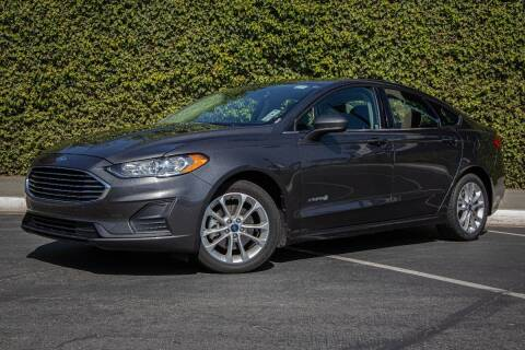 2019 Ford Fusion Hybrid for sale at 605 Auto  Inc. in Bellflower CA