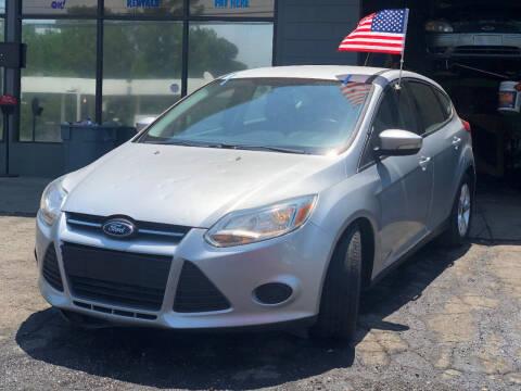 2014 Ford Focus for sale at TEAM AUTO SALES in Atlanta GA