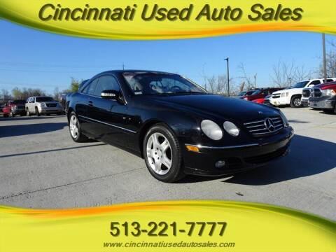 2003 Mercedes-Benz CL-Class for sale at Cincinnati Used Auto Sales in Cincinnati OH