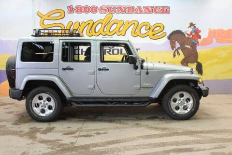 2014 Jeep Wrangler Unlimited for sale at Sundance Chevrolet in Grand Ledge MI