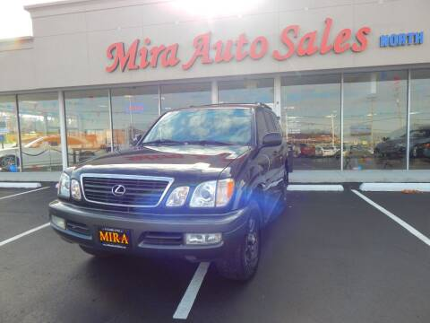 2002 Lexus LX 470 for sale at Mira Auto Sales in Dayton OH