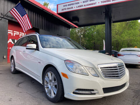 2012 Mercedes-Benz E-Class for sale at Apple Auto Sales Inc in Camillus NY