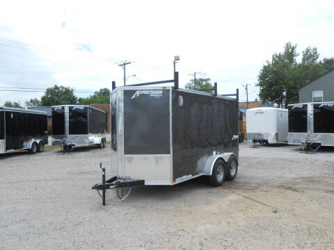 2021 Homesteader Intrepid 6x12 Gray