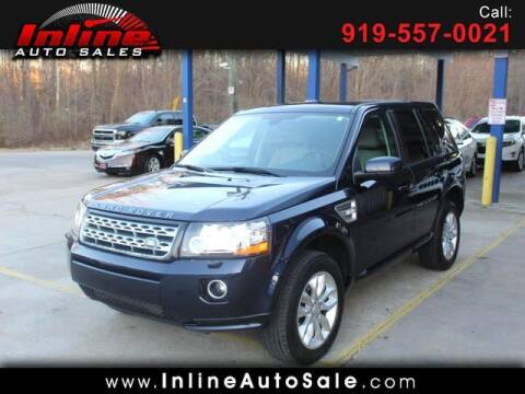 2015 Land Rover LR2 for sale at Inline Auto Sales in Fuquay Varina NC