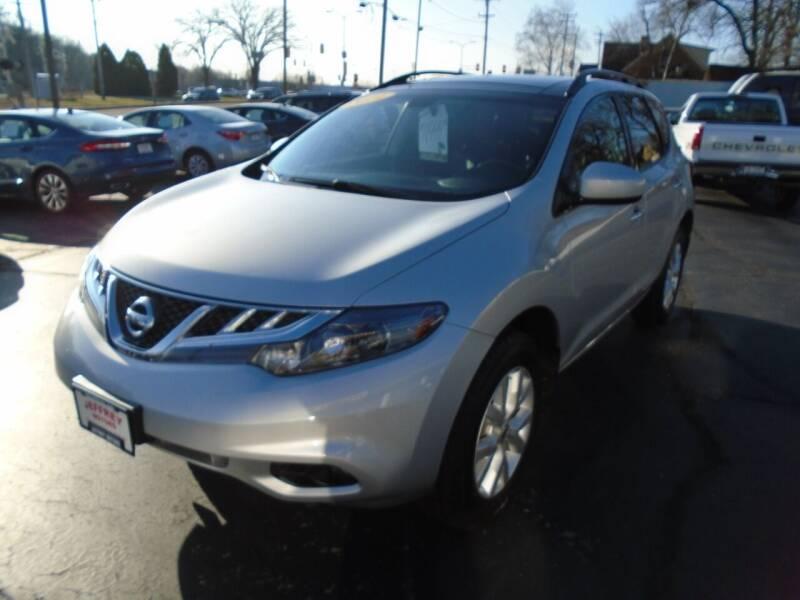 2014 Nissan Murano for sale at Jeffrey Motors in Kenosha WI