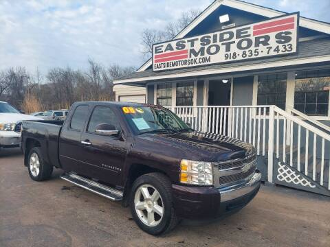 2008 Chevrolet Silverado 1500 for sale at EASTSIDE MOTORS in Tulsa OK