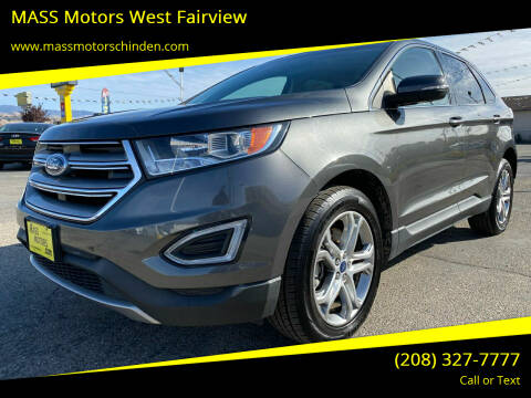 2017 Ford Edge for sale at M.A.S.S. Motors - West Fairview in Boise ID