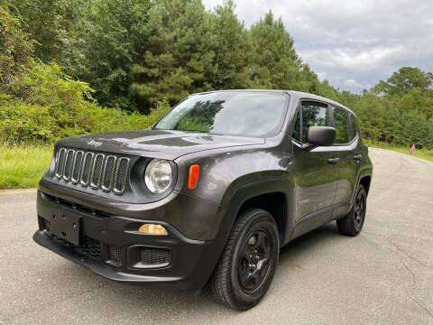 2017 Jeep Renegade for sale at Carrera AutoHaus Inc in Clayton NC