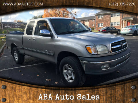 2002 Toyota Tundra for sale at ABA Auto Sales in Bloomington IN