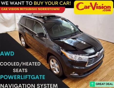 2016 Toyota Highlander Hybrid for sale at Car Vision Mitsubishi Norristown in Trooper PA