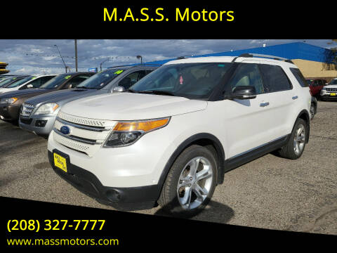 2012 Ford Explorer for sale at M.A.S.S. Motors - MASS MOTORS in Boise ID