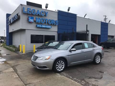 2014 Chrysler 200 for sale at Legacy Motors in Detroit MI