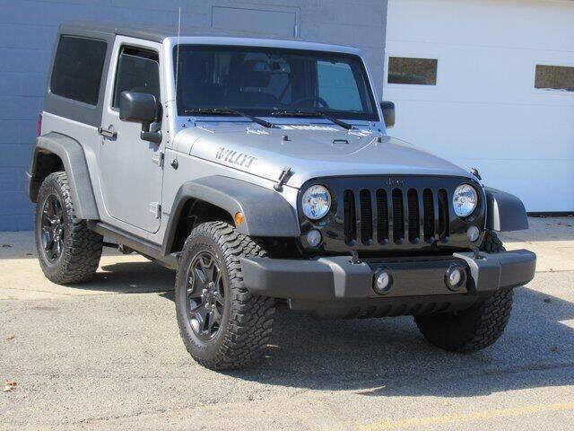 2017 Jeep Wrangler for sale at K&M Wayland Chrysler  Dodge Jeep Ram in Wayland MI