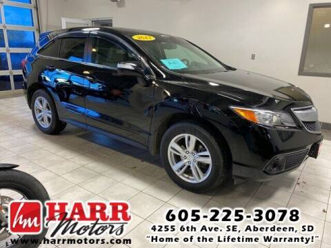2013 Acura RDX for sale at Harr Motors Bargain Center in Aberdeen SD