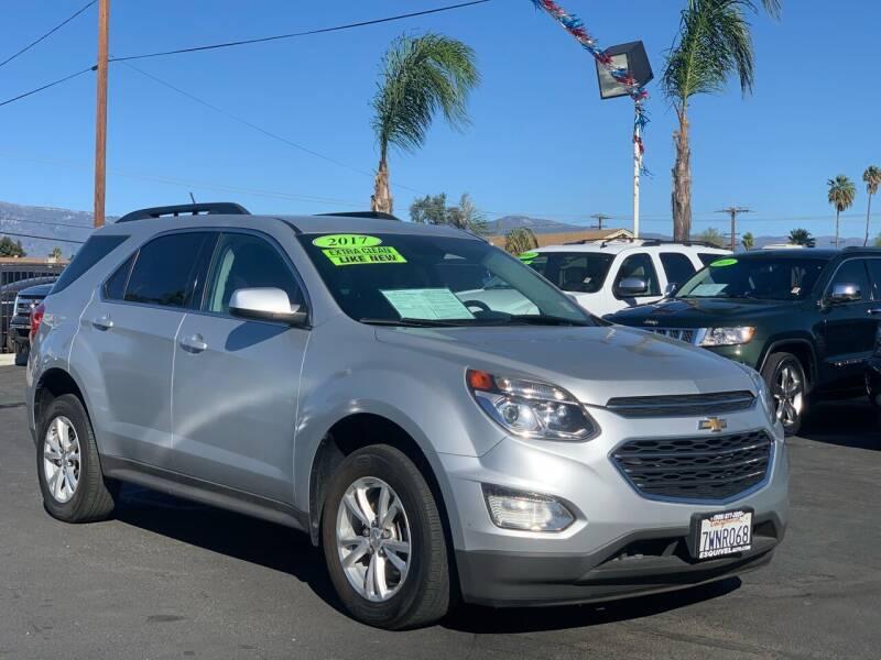 2017 Chevrolet Equinox for sale at Esquivel Auto Depot in Rialto CA