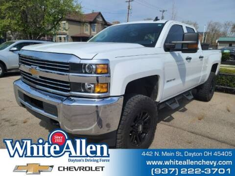 2015 Chevrolet Silverado 2500HD for sale at WHITE-ALLEN CHEVROLET in Dayton OH