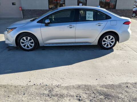 2020 Toyota Corolla for sale at Wheel - N - Deal Auto Sales Inc in Fairbury NE