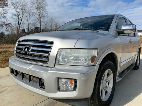 2004 Infiniti QX56 for sale at El Camino Auto Sales in Sugar Hill GA