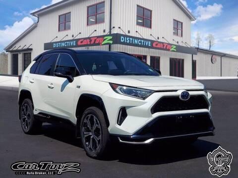 2021 Toyota RAV4 Prime for sale at Distinctive Car Toyz in Egg Harbor Township NJ