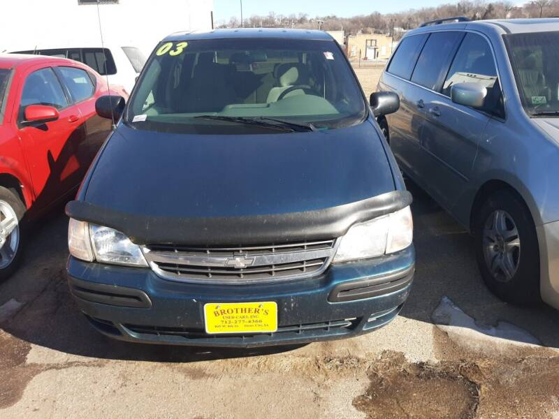 2003 Chevrolet Venture for sale at Brothers Used Cars Inc in Sioux City IA