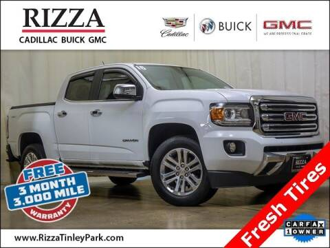 2016 GMC Canyon for sale at Rizza Buick GMC Cadillac in Tinley Park IL