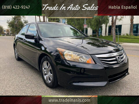 2012 Honda Accord for sale at Trade In Auto Sales in Van Nuys CA