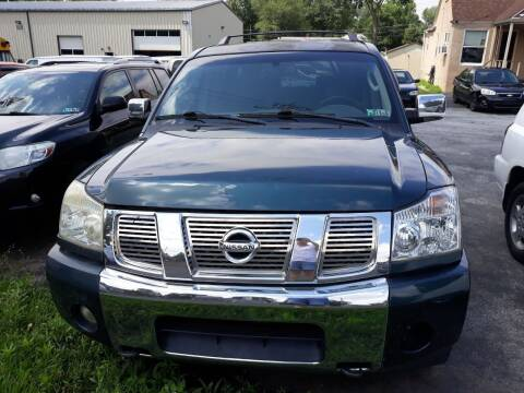 2004 Nissan Armada for sale at GALANTE AUTO SALES LLC in Aston PA